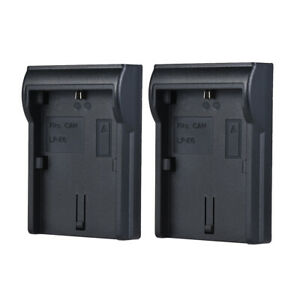 2pcs LP-E6 Battery Plate for Neweer Andoer Dual/Four Channel Battery S9W0