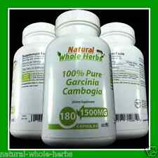PURE 100% Garcinia Cambogia 1500MG 2 MONTHS SUPPLY - WEIGHT LOSS DIET