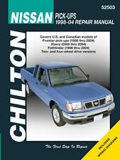 Chilton 52503 Repair Manual for Fits Nissan Pick-Ups & Pathfinder, 1998-04