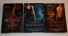 LOT Savannah Russe BEYOND THE PALE PAST REDEMPTION BENEATH SKIN Darkwing 3 HC