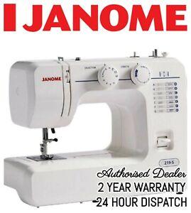 Janome 219-S Mechanical Sewing Machine (2 Year Warranty) Perfect Starter Machine