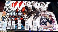 Avengers Vs X-Men LOT of ( 6 ) Variant Edition Books ROUND #4, 3x #5 ,2x #6 VFNM