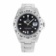 Rolex Explorer II GMT Black Dial Steel Automatic Mens 1999 Watch 16570