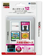 Hori JAPAN Nintendo 3DS Official Licensed Game Software Card Case 12 Clear White