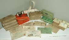 1930's Vintage Mine Safety First Aid items from Phelps Dodge Mine in Arizona