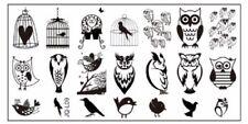 12x6cm Nail Art Image Stamping Plate manicure Pedicure Nail Art