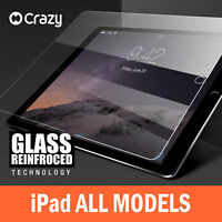 Crazy Tempered Glass Screen Protector for iPad 6 5 4 3 2 Air 1 Mini Pro 9.7 12.9