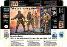 Masterbox 1/35 Screaming Eagles 101st Airborne (RRP £12.99)