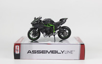 Assemble Maisto 1/12 Kawasaki Ninja H2R Motorcycle Bike Model Toys F Kids DIY