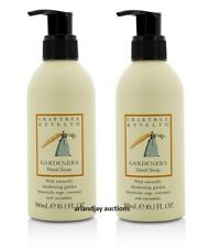 Lot of 2 New Crabtree & Evelyn Gardeners Hand Soap 10.1 fl oz x 2