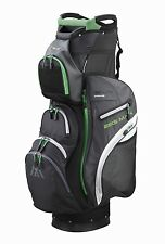 Big Max Cartbag - Dri Lite PRIME - wasserdicht - charcoal/lime, Neuheit!