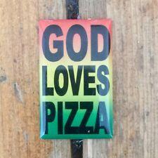 Pizza Skateboards God Loves Pizza Enamel Pin Badge SF GX1000 Palace Supreme Dime