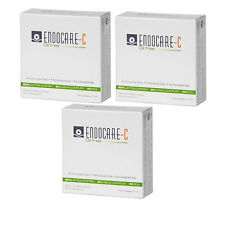 3x ENDOCARE C OIL FREE 7 AMPOULES AMPOLLAS x 1 ml SCA 40 ANTIOX (TOTAL 21 AMP)