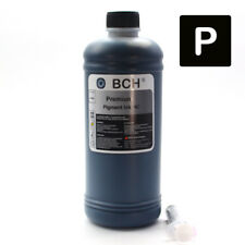 PIGMENT Black Bulk Refill Ink 500 ml Bottle Color for HP Printer Cartridge