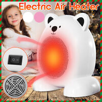 220V 350W Mini Cartoon Bear Electric  Warmer Home Office Space  *