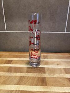 Rare The London Dungeons Highball Printed Glass - VGC