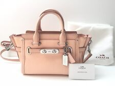 Coach Swagger 20 Pebble Leather 35798 Limited Production Peach RARE