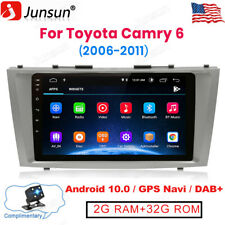 For Toyota Camry 6 2006-2011 Android 10.0 Car Radio Stereo Player Navigation Gps