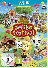 ANIMAL CROSSING AMIIBO FESTIVAL WII U Excellent - 1st Class Delivery