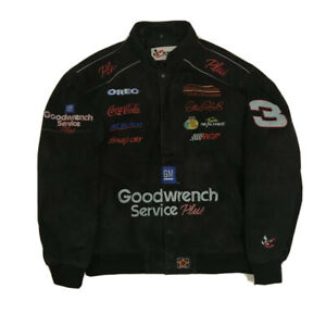 Dale Earnhardt Sr - Goodwrench Plus Chase Authentic Leather Jacket