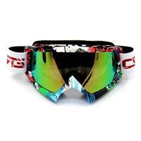 MX Snowboard Ski Snow Anti-Fog Lens MX Adults Men's Women's Graffiti Goggles