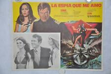 The Spy Who Loved Me Mexican Lobby Card Movie Poster Roger Moore #2
