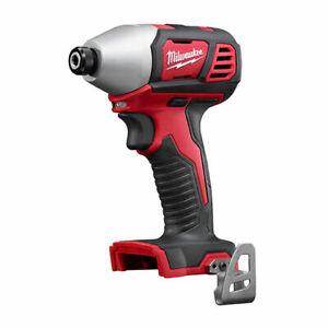 "Milwaukee 2656-20 M18 Volt Li-Ion 1/4"" Impact Driver Tool Only New Slim Line2018"