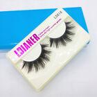 Fashion Soft Natural 1 Pair False Women Eyelashes Adhesives Glamour Beauty