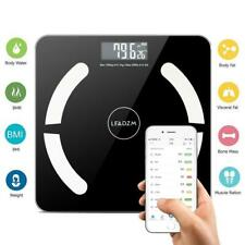180kg Smart Bluetooth Scale Digital Bathroom Body Fat Scales BMI Weighing APP