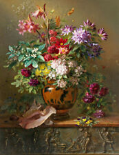 Dealer or Reseller Listed Reproduction Floral Art