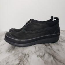 Clarks Muckers Ruck Rain Shoes Waterproof Leather 60739212 Womens Size 10 Black
