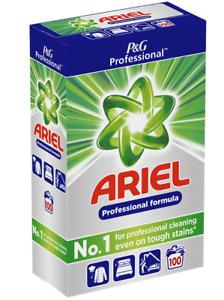 Ariel Professional 100 Wash Home Washing Laundry Powder Detergent