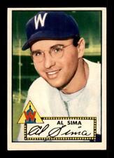1952 Topps #93 Al Sima EX+ X1205983