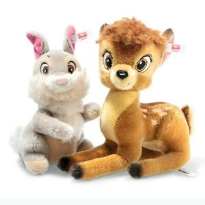 Steiff 683305 Disney Bambi And Thumper 12 And 6 5/16in