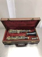Raymond USA wood intermediate level Clarinet. Good Condition Missing Mouth Piece