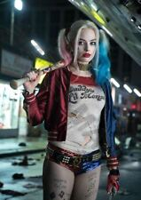 Suicide Squad Film Poster Print Harley Quinn A4 260gsm