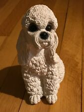 """Vintage Animal Classic Critters White Poodle, Designed by UDC, 7.25"""""""