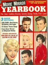 Marilyn Monroe Elvis Presley Sandra Dee Movie Mirror Yearbook magazine 1960