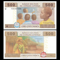 Central African, Cameroun 500 Francs, 2002(2018), P-206 U NEW, UNC