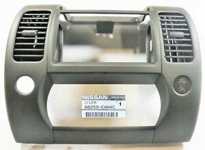 Nissan 68259-EA00C Dash Center Console Upper Trim Bezel Genuine OEM New