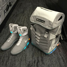 Nike Air Mag Backpack-Sneakers White Grey Back To The Future Yeezus Kanye West