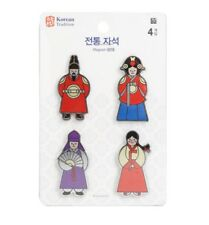 Korean Traditional Refrigerator Fridge Magnet Random Design Good Gift Souvenir