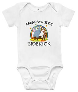 Baby Bodysuit - Grandpa's Little Sidekick Baby Clothes for Infant Boys and Girls