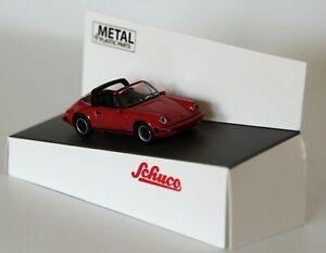 Schuco 452656400 Spur H0 Porsche 911 Carrera 3.2 Targa, rot 1:87 #NEU in OVP