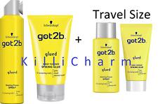 Duo + Travel Duo Got2b Glued Blasting Freeze Spray + Glued Spiking Glue