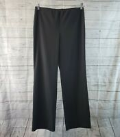 Eileen Fisher Womens Pull On Pants Sz 8 Gray Mid Rise