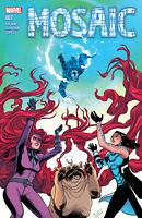 Mosaic #7 Marvel Comics COVER A 1ST PRINT  THORNE