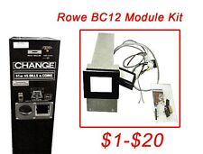 Rowe Bc12 $1-$20 Dollar Bill Changer Update Kit install a 24v Mars Mei acceptor