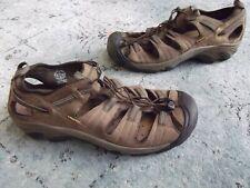 KEEN 1226-SHRU Arroyo II Mens Sz 17 M Brown Leather Waterproof Hiking Sandal
