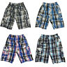 Boys Kids Shorts Check Combat Cargo Pocket Summer Fashion